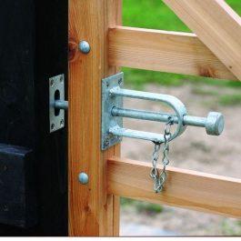 Hardware for Timber Gates